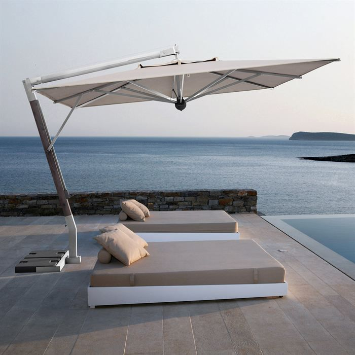 parasol d port rectangulaire giotto de 12 m2 achat. Black Bedroom Furniture Sets. Home Design Ideas