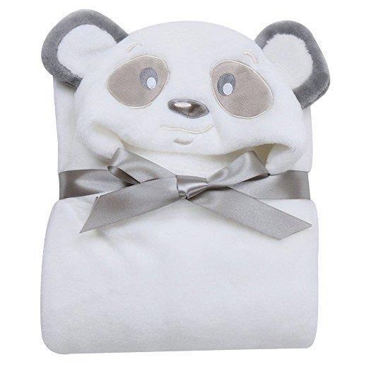 Peignoir de bain /à Capuche Animaux//Serviette de bain avec Chapeau B/éb/é 100*100//Serviette Drap de Bain Bebe Panda 0-2 ans