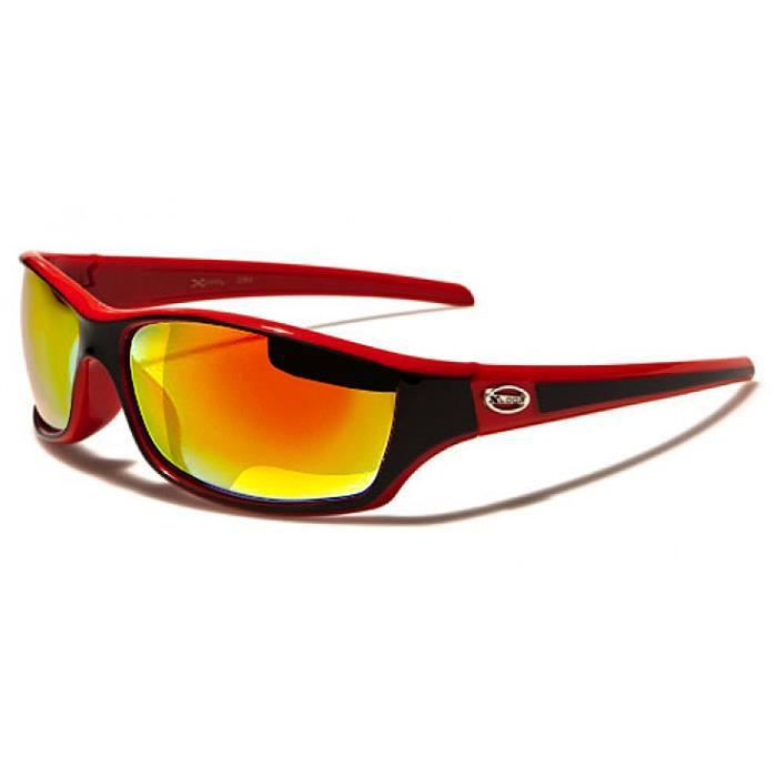 x loop lunettes de soleil sport cyclisme ski rouge. Black Bedroom Furniture Sets. Home Design Ideas