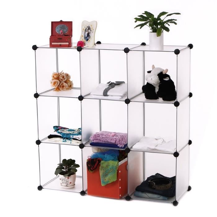 meuble rangement etagere modulable achat vente etag re murale meuble rangement etagere mo. Black Bedroom Furniture Sets. Home Design Ideas