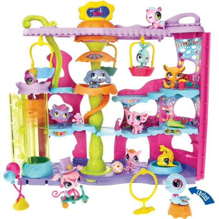 littlest petshop le cirque des petshop achat vente. Black Bedroom Furniture Sets. Home Design Ideas