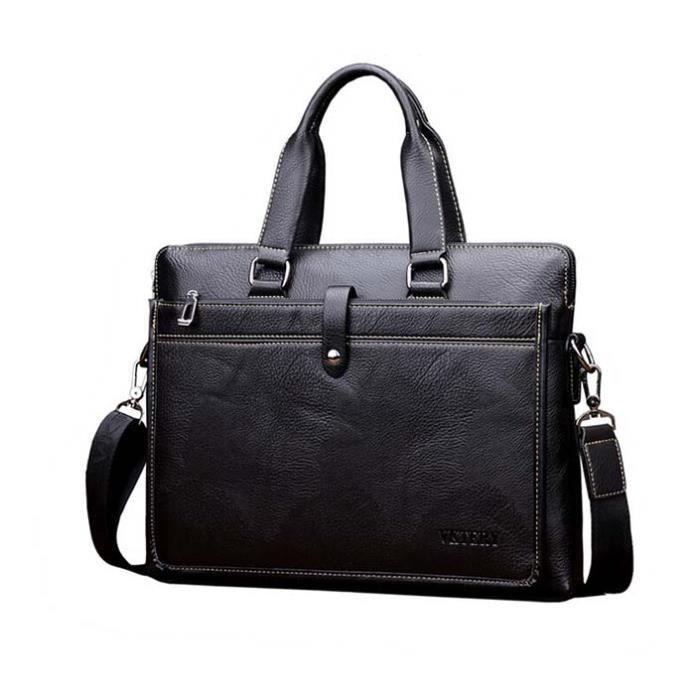SAC À MAIN Sac serviette luxueux cuir véritable sac à main No