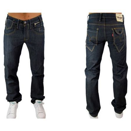 jeans hommes levis 504 straight bleu bleu achat vente jeans cdiscount. Black Bedroom Furniture Sets. Home Design Ideas