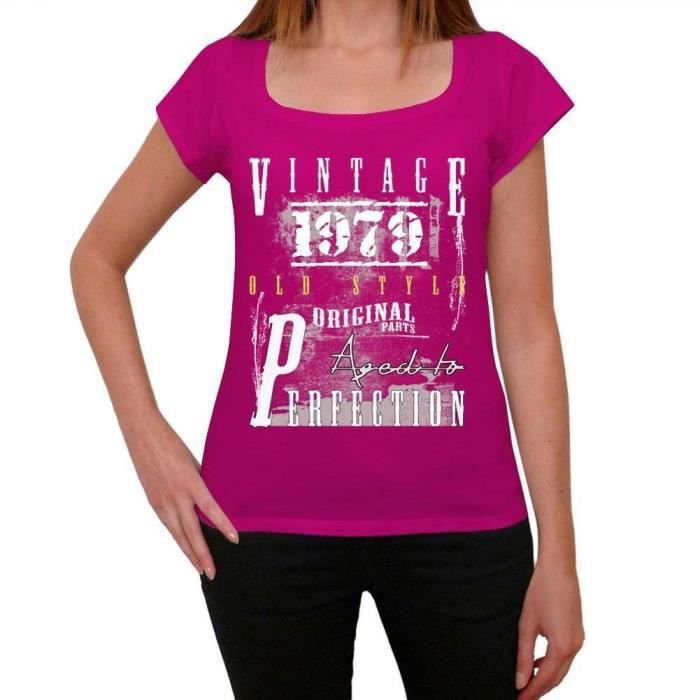 T-SHIRT 1979 vintage since tshirt femme tshirt ideal
