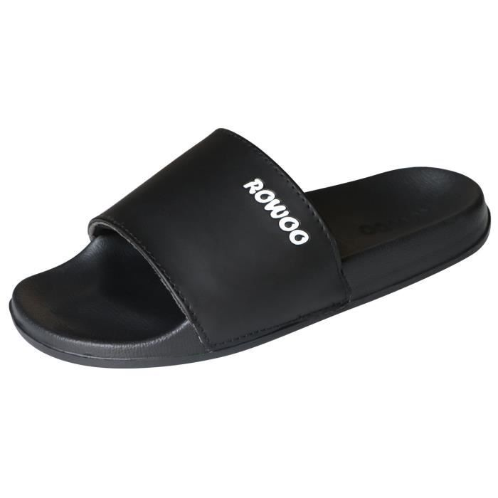 Men's Anti-skidding Eva Open Toe Slide Beach And Pool Flip Flops Sandals DUOKA Taille-39 FkvcQ