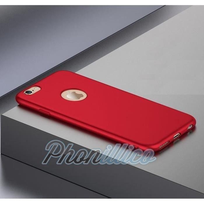 coque iphone 7 rouge ultra slim