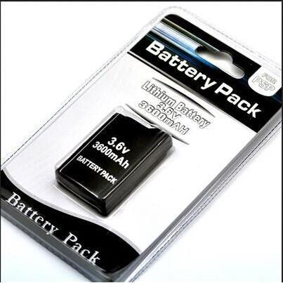 JEU PSP Batterie rechargeable 3600mAh pour PSP 1000