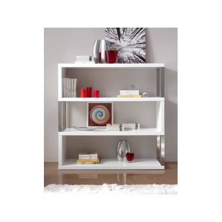 4 tag re design blanc laqu ariane achat vente meuble tag re 4 tag re - Etagere blanc laque ikea ...