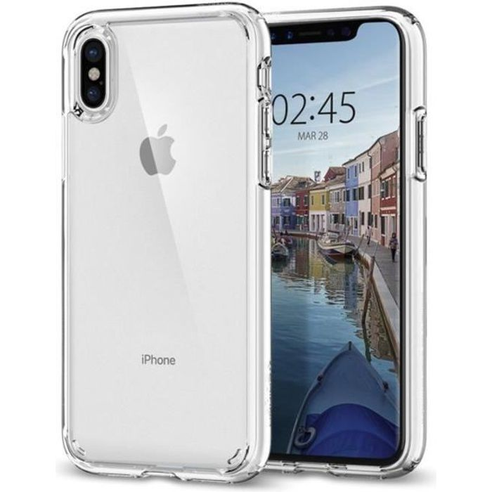 spigen coque iphone x coque iphone xs ultra hybr