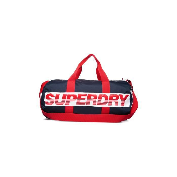 7f4b0f9c67 Sac De Sport Superdry International Barrel Navy Bleu Marine - Prix ...