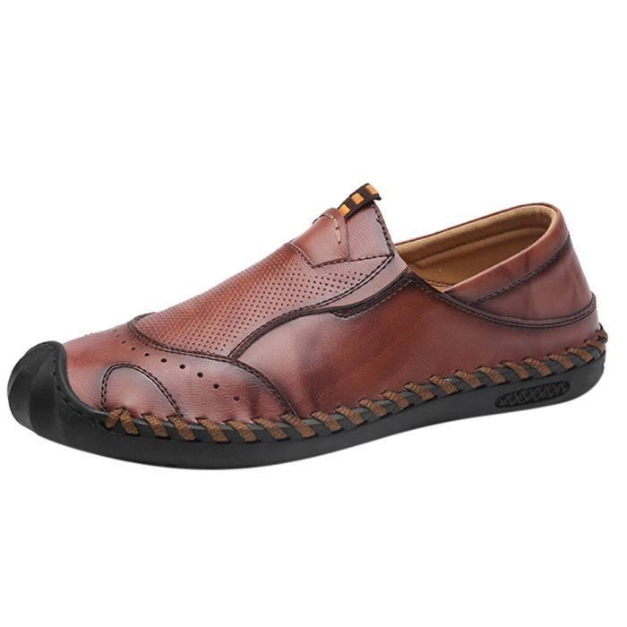 botte Chaussures de loisirs hommes d'affaires en cuir Casual bout pointu chaussures chaussures costume masculinCXI90801304RD45_881
