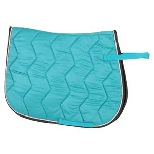 EQUI THEME Chabraque Rope pour cheval Turquoise Argent