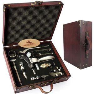 TIRE-BOUCHON Ensemble-cadeau d'accessoires pour le vin avec cof