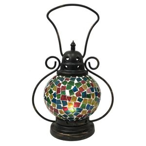 jardin-photophore pour l/'intérieur U Extérieur DEL Deco-Lanterne Flamme avec bougie U Timer