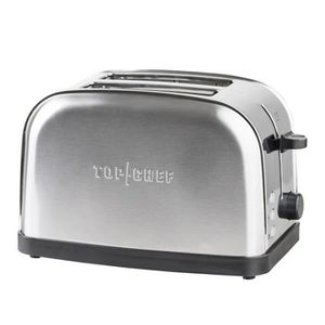 GRILLE-PAIN - TOASTER TOP CHEF TOPC534 - Grille-pain 2 tranches - Inox