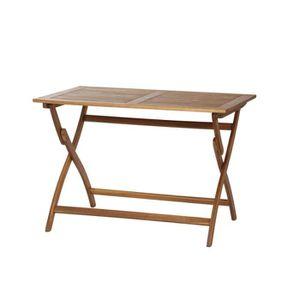TABLE DE JARDIN  Siena Mybalconia Table Pliante 70 x 110 x 74,5 cm