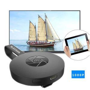 CÂBLE TV - VIDÉO - SON Adaptateur Téléphone TV HDMI Wifi Sans Fil Dongle,