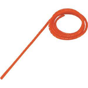 CÂBLE - FIL - GAINE Gaine de protection spiralée rouge pour Ø 4 - 50 m
