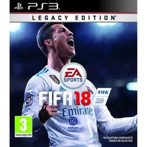 JEU PS3 FIFA 18 Edition Essentielle Jeu PS3 + 2 cartes FIF
