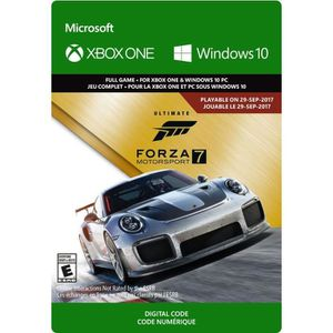 JEU XBOX ONE À TÉLÉCHARGER Forza Motorsport 7 Edition Ultimate Jeu Xbox One à