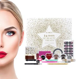 COFFRET CADEAU BEAUTÉ Calendrier de l'Avent Glamza 24 Days Of Beauty Fri