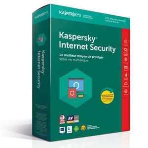 ANTIVIRUS KASPERSKY Internet Security 2018 - 3 Postes / 1 An