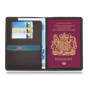 Transparent Passeport Housse Support Etui organiseur de voyage Carte didentit/é Protection d/écran