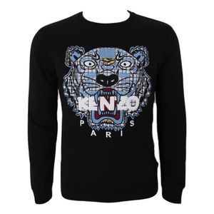 AUTHENTIQUE Sweat KENZO Tigre Noir NOIR - Achat   Vente sweatshirt ... bbe7f6db41b