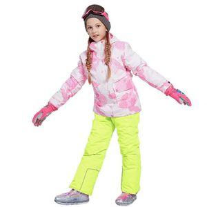 PANTALON DE SKI - SNOW Combinaison de ski Costume Enfant de Marque luxe É