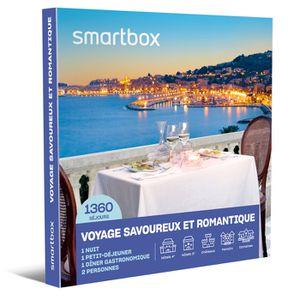 COFFRET SÉJOUR SMARTBOX - Coffret Cadeau - Voyage savoureux et ro