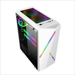 BOITIER PC  AVANC Boîtier PC ATX m-atx ITX Audio HDD SSD 2 RGB