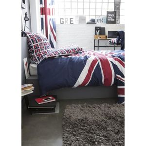 housse de couette union jack achat vente housse de. Black Bedroom Furniture Sets. Home Design Ideas
