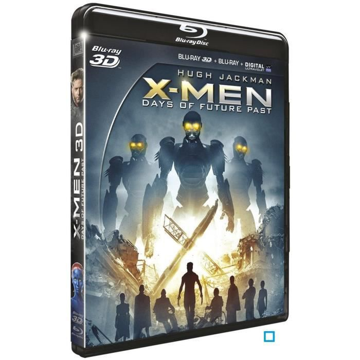 BLU-RAY FILM Blu-Ray 3D  X-Men days of future past