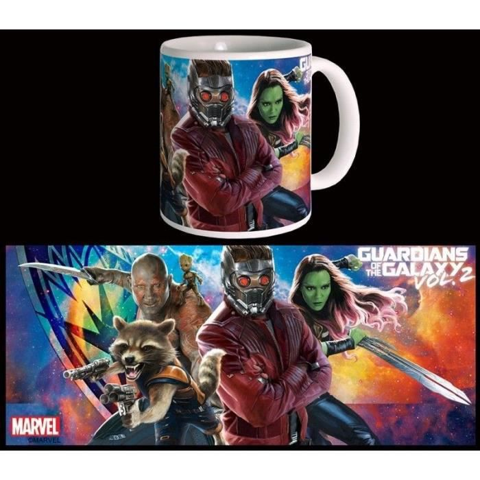 Mug Marvel The Group Gardiens De La Galaxie Vol 2 Blanc