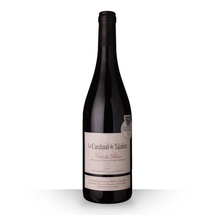 Le Cardinal de Talabot 2017 AOC Côtes du Rhône - 75cl - Vin Rouge