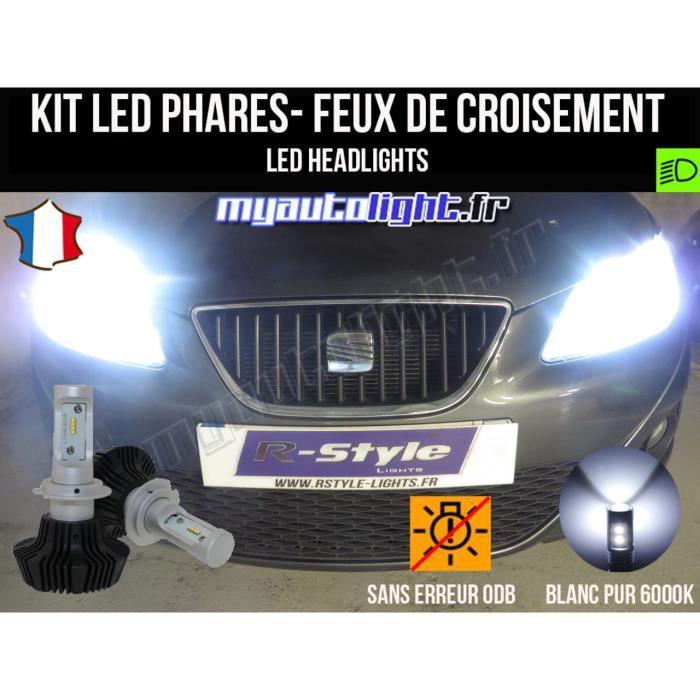 Kit Ampoules de phares à LED H7 Haute Performance pour SEAT IBIZA 4 6J PHARES H7