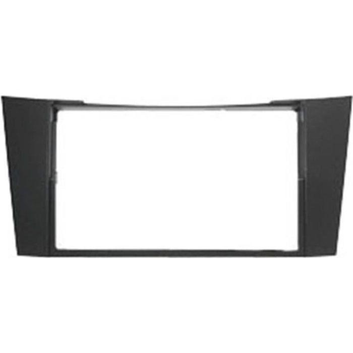 Adaptateur de façade d'autoradio Double DIN Noir Mercedes Classe E W211 2002 >