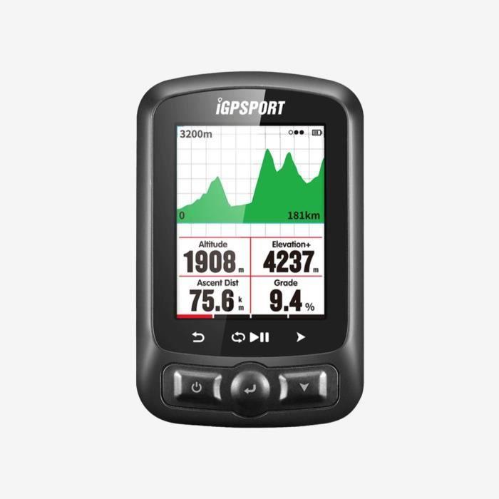 Compteur GPS - iGS618 - Compteur de vélo GPS High Tech