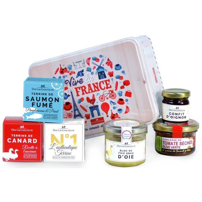 Coffret gourmand -Vive la France-