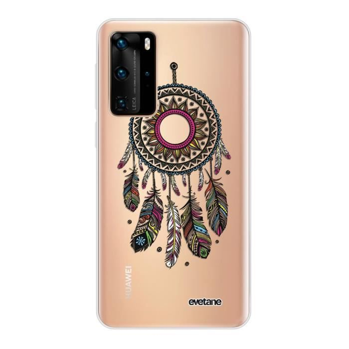 Coque Huawei P40 Lite 5G 360 intégrale transparente Attrape rêve Ecriture Tendance Design Evetane