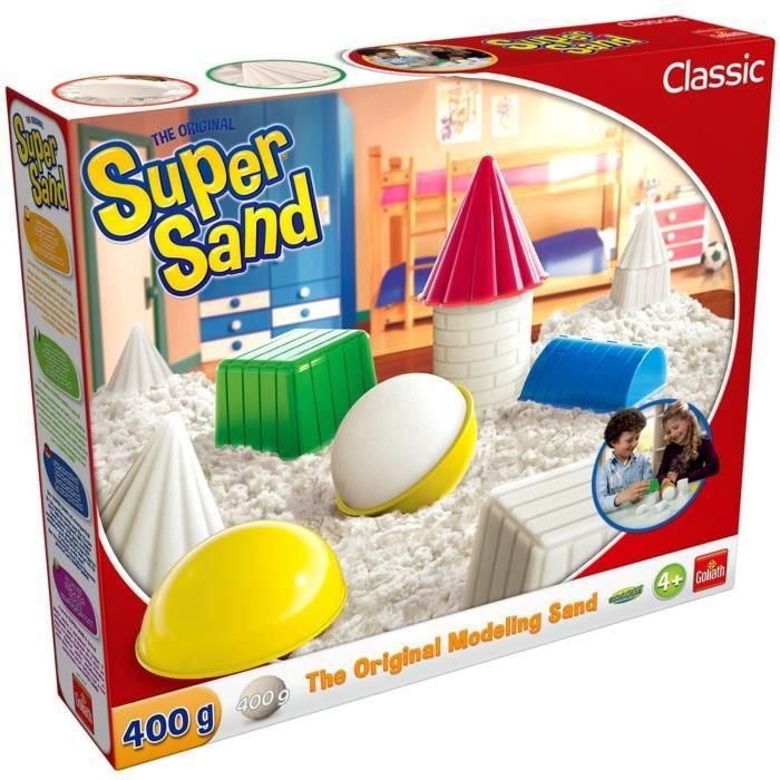 SUPER SAND Classic - Loisir créatif - Sable à modeler - GOLIATH