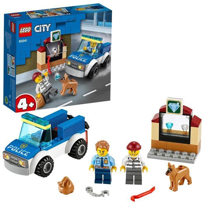 LEGO® City 60241 - L'unité cynophile de la police