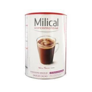 Milical 18 Boissons Hyperprotéinées - Saveur : Cacao