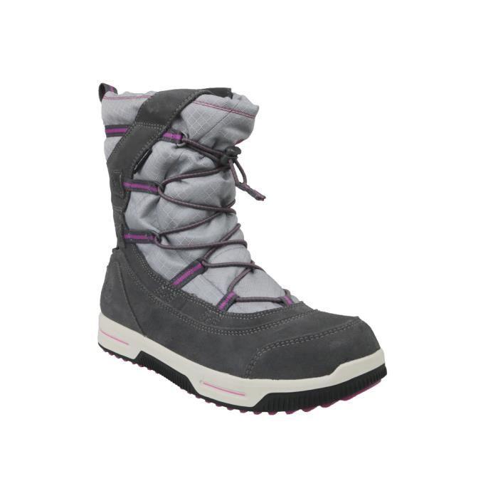 Timberland Snow Stomper Pull On WP Jr A1UJ7 chaussures de randonnée pour enfant Gris