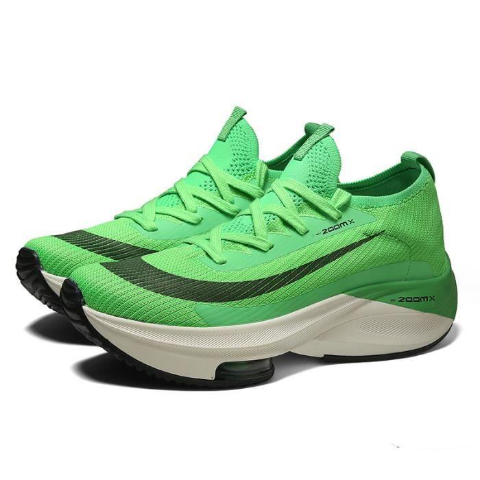 BASKET Mixte - Chaussures de course de sport à coussin d'air ultra-léger Spring - Vert HB™
