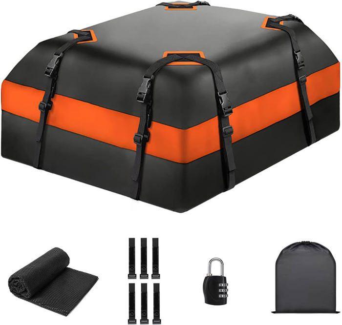 Sac de Toit de Voiture, sac de fret résistant à l'eau facile à installer les porte-bagages doux - 115 (L) x 90 (W) x 40 (h) cm