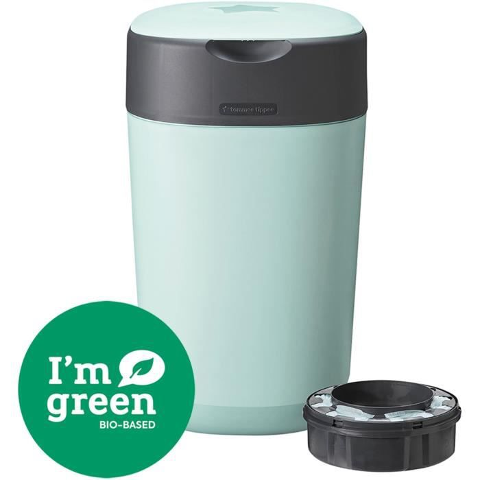 TOMMEE TIPPEE Bac à couches Twist & click Vert FFP