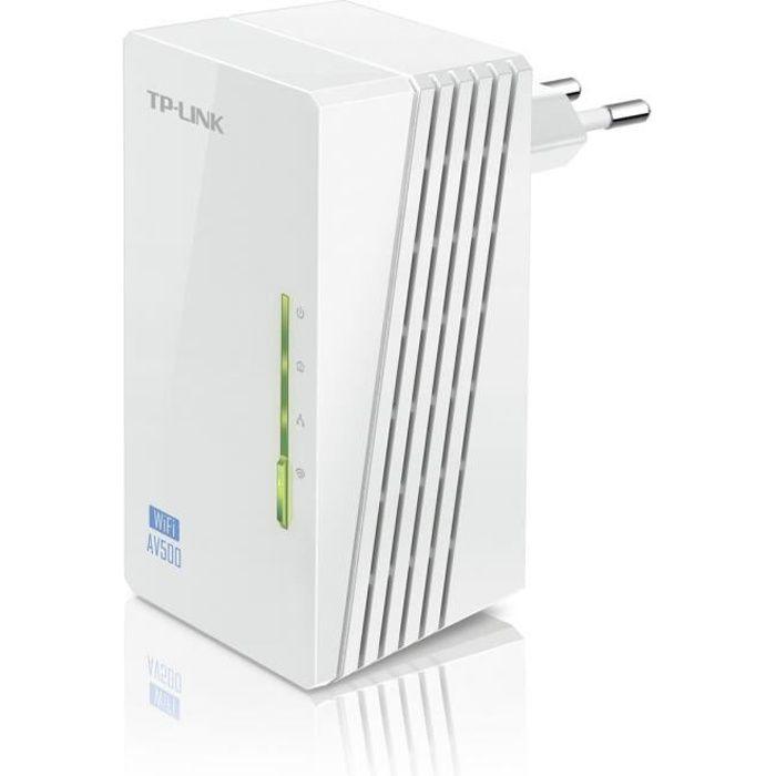 TP-LINK Extenseur CPL AV500 Wi-Fi N 300 Mbps -WPA4220