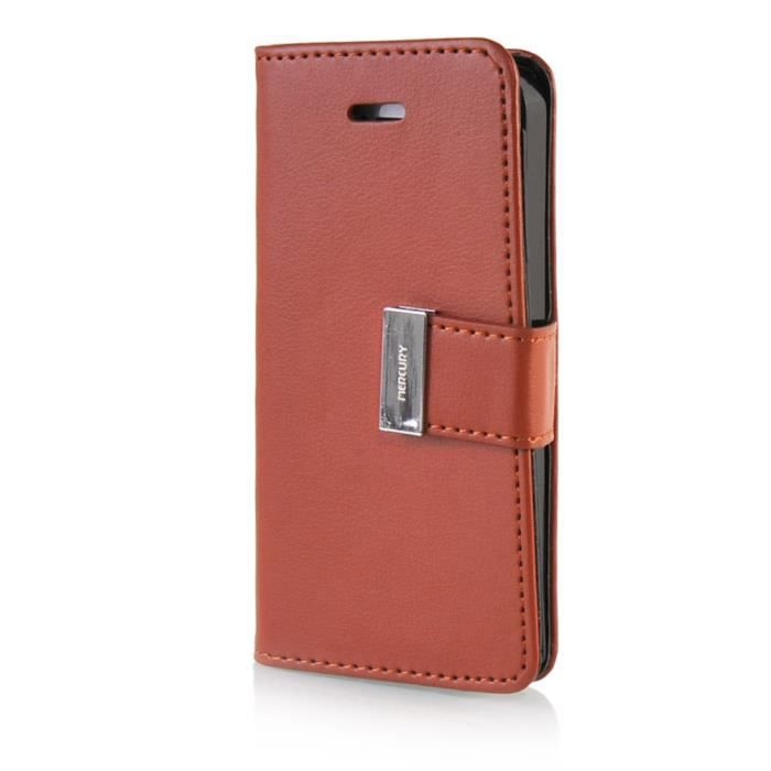 Guanhao iphone 5 case housse en cuir tui pour iphone 5 5s for Housse cuir iphone 5