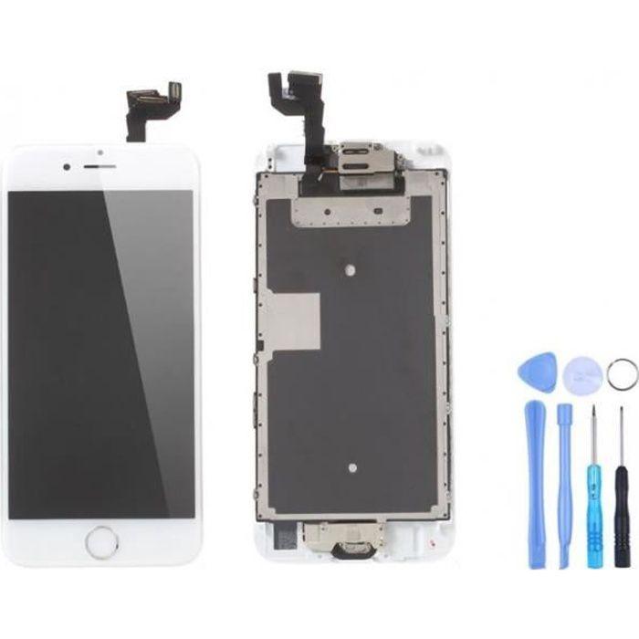 ECRAN DE TÉLÉPHONE Ecran complet iPhone 6S Blanc + Outils
